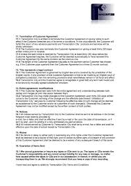 call center supervisor resume example terms and conditions transcription city typing services download a copy of our terms and conditions