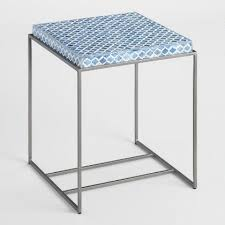 Glass Accent Table Glass Lorelei Accent Table World Market
