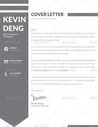 minimal resume cover letter 4 in 1 by dotnpix graphicriver