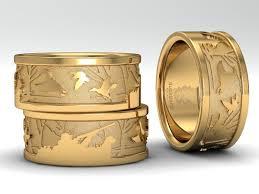 wedding band brand 14k yellow gold wedding band www duckbandbrand jewelry for