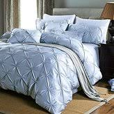 Pinched Duvet Cover Pleated Duvet Cover Shopstyle