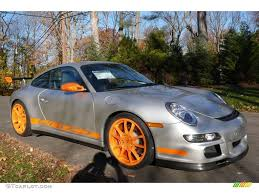 Porsche 911 Orange - 2007 arctic silver metallic orange porsche 911 gt3 rs 2127560