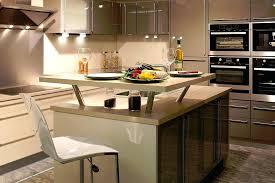 photo de cuisine amenagee ilot central pour cuisine cuisine amenagee americaine