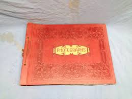 leather album company vintage leather springfield photo mount company photo album no
