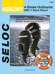mercury outboard manuals by seloc mercury outboard repair manuals