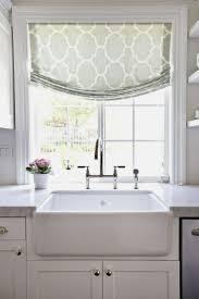 kitchen window treatments modern kitchen 54 modern kitchen curtains for bay window with round