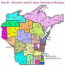 area code map of michigan area map al anon family groups wisconsin the peninsula