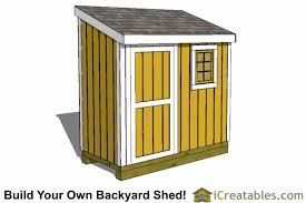 How To Build A Lean To Shed Plans by 4x8 Shed Plans 4x8 Storage Shed Plans Icreatables Com