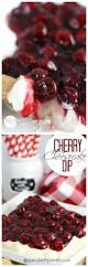 cherry cheesecake dip no bake spend with pennies