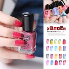 3 59 1 bottle 11ml peel off color changing thermal nail polish