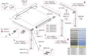 Fiamma Awning Parts Caravansplus Spare Parts Diagram Fiamma Caravanstore 280 440