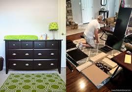 Changing Table Furniture Dresser To Changing Table Sauder Furniture