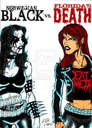 Death Metal Meme - metal music girl black metal vs death metal youtube music