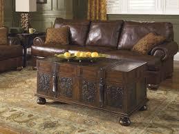 ashley furniture glass top coffee table coffee table furniture trunk as coffee table ashley tables