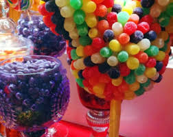 Candy Topiary Centerpieces - marshmallow candy land centerpiece topiary tree candy buffet