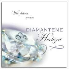 einladungen zur diamantenen hochzeit einladung zur diamantenen hochzeit text attraktive designs