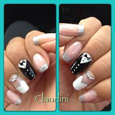 bride and groom nails doing my own nails pinterest bride nails