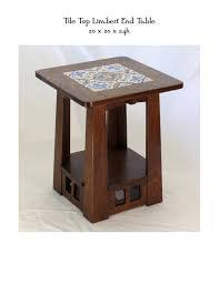 jofran baroque end table jofran baroque brown end table with mosaic tile inlay delightful