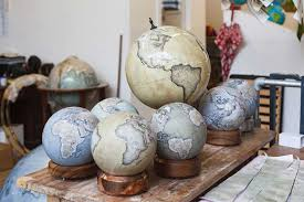 Small Desk Globe Can You Believe These Gorgeous Globes Are Painstakingly Made