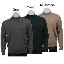 the best sweaters belford s merino wool mock neck sweater overstock com