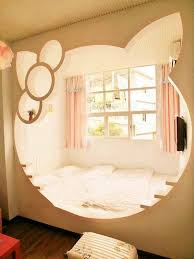 Hello Kitty Wall Mirror 25 Hello Kitty Bedroom Theme Designs Home Design And Interior
