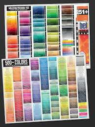 free color chart u2014 bombing science