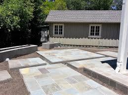 Bluestone Patio Pavers Marin Concrete Walls Bluestone Patio Pavers And New Plants