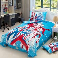 ultraman cartoon cotton children bed sheet pillow cases bedding