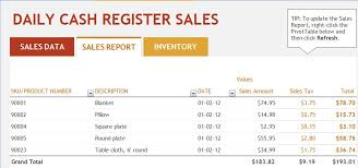 Monthly Sales Report Template Excel Restaurant Daily Sales Report Template Excel Project Management