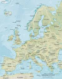Northwestern Europe Map by Europe Q Files Encyclopedia