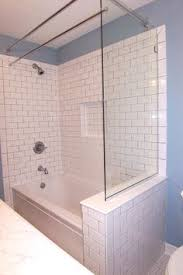 Bathroom Shower Rods Curved Curtain Rod I Am Trying To Picture How This Works With
