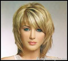 image result for medium hairstyles with bangs for women over 40