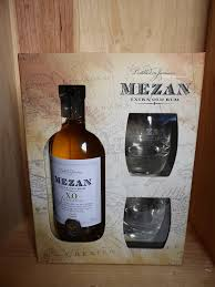 wine sler gift set mezan xo jamaica rum gift set with 2 glasses 70cl fareham wine