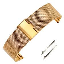 buckle bracelet gold images 18mm adjustable gold chain mesh watch bracelet jpg