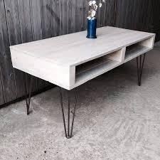 coffee table glamorous hairpin leg coffee table design ideas