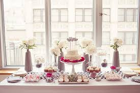 modern baby shower themes modern baby shower ideas great looked in rectangle shape dining