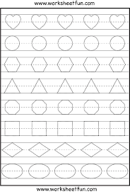 shapes worksheet kindergarten kelpies