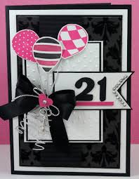 Homemade Birthday Invitation Cards Awesome 21st Card A Change Of Colours And Numbers Would Make This