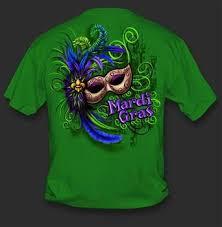 mardi gras t shirt sweet thing mardi gras mask green girlie bright t