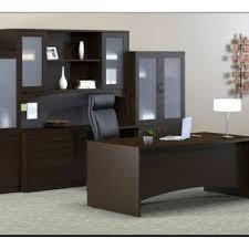 bureau complet ensemble bureau complet coloris noir sanaco bf