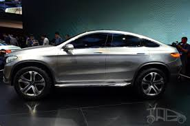 mercedes jeep 2014 mercedes concept coupe suv at 2014 beijing auto side
