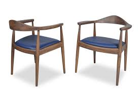 Leather Mid Century Chair Freya Dining Chair Set Of 2 Leather Mid Century Modern Chairs