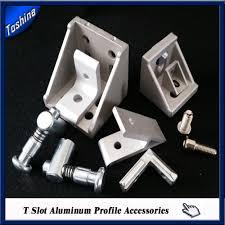 Bed Frame Connection Hardware T Slot Industry Aluminium Profile Frame Connectors Buy Aluminium