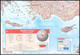 Map Directions Driving Map Of North Cyprus Road And Street Maps Of Kyrenia Famagusta