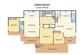 Covered Lanai by Lahaina Dream Villa Villaway