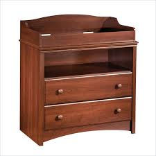 Cherry Wood Baby Changing Table South Shore Sweet Morning Wood Changing Table In Royal Cherry