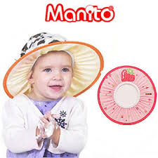 baby shower hat manito fruit shoo cap strawberry pink