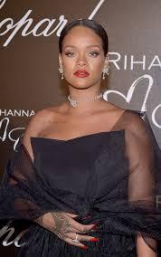 rihanna earrings rihanna wearing a 69 55 carat diamond choker diamond earrings a