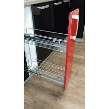 meuble à épices cuisine meuble cuisine pas cher discount meuble bas 20cm 1 porte