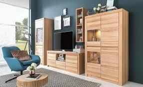 design mã belhaus wohnwand in kernbuche massiv wöstmann möbel mit www